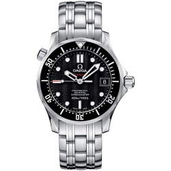 Omega Seamaster 300m Midsize Black Dial Steel Watch 212.30.36.20.01.001