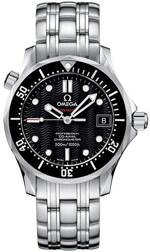 Omega Seamaster 300m Black Dial Steel Watch 212 30 36 20 01 001