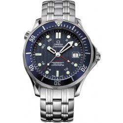 Omega Seamaster 300m GMT Stainless Steel Mens Watch 2535.80