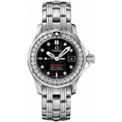 Omega Seamaster 300m Ladies Diamond Watch 212.15.28.61.51.001