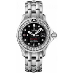 Omega Seamaster 300m Ladies Diamond Watch 212.15.28.61.51.001