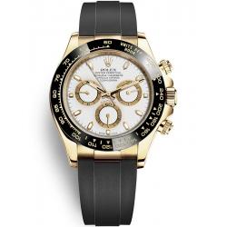 Rolex Cosmograph Daytona Yellow Gold White Dial Watch 116518LN