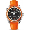 Omega Planet Ocean 42mm Mens Orangle Band Watch 2909.50.83