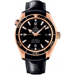 Omega Planet Ocean 42mm Automatic Rose Gold Watch 222.63.42.20.01.001
