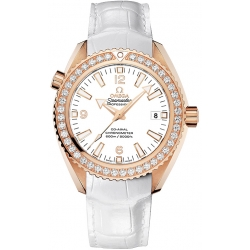 Omega Seamaster Planet Ocean Womens Gold Watch 232.58.42.21.04.001