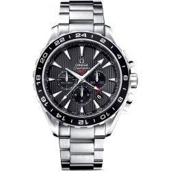 Omega Aqua Terra Chronograph GMT Mens Watch 231.10.44.52.06.001