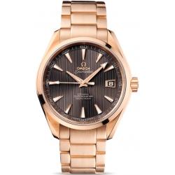 Omega Seamaster Aqua Terra Gold Bracelet Watch 231.50.42.21.06.001