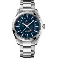 Omega Aqua Terra GMT Mens Steel Bracelet Watch 231.10.43.22.03.001