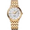 Omega De Ville Prestige 36mm Mens Gold Bracelet Watch 4174.35