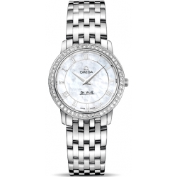 Omega De Ville Prestige Womens Diamond Watch 413.15.27.60.05.001