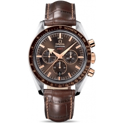 Omega Speedmaster Broad Arrow 2 Tone Watch 321.93.42.50.13.001