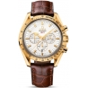 Omega Speedmaster Broad Arrow Mens Gold Watch 321.53.42.50.02.001