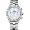 Omega Speedmaster Chrono Womens Diamond Watch 324.15.38.40.05.001
