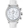 Omega Speedmaster Chrono Womens Diamond Watch 324.18.38.40.05.001