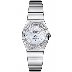 Omega Constellation 09 Womens Steel Bracelet Watch 123.15.24.60.55.004