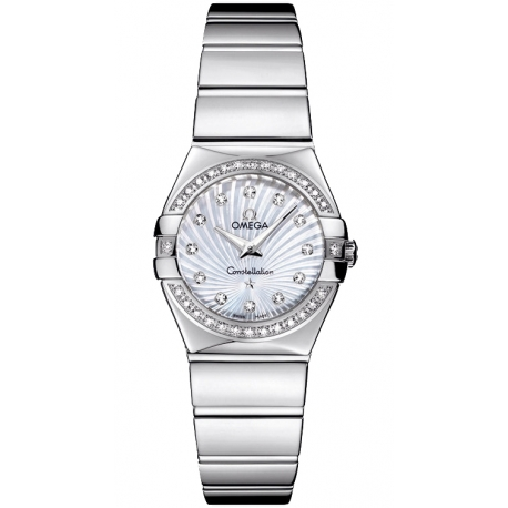 Omega Constellation 09 Steel Bracelet Watch 123.15.24.60.55.004