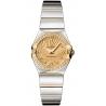 Omega Constellation 09 Womens 2 Tone Watch 123.25.24.60.58.002