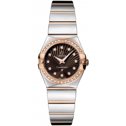 Omega Constellation 09 Womens Diamond Watch 123.25.24.60.63.002