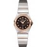 Omega Constellation 09 Womens Diamond Watch 123.25.24.60.63.002