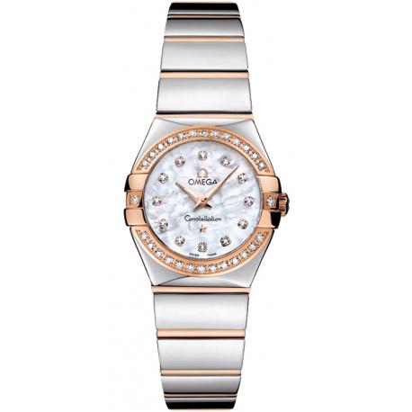 Omega Constellation 09 Womens 2 Tone Watch 123.25.24.60.55.005