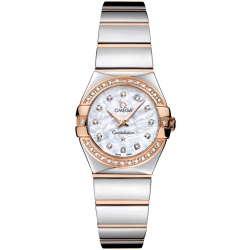 Omega Constellation 09 Womens 2 Tone Watch 123.25.24.60.55.005