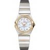 Omega Constellation 09 Womens Diamond Watch 123.25.24.60.55.007