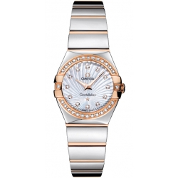 Omega Constellation 09 Womens Diamond Watch 123.25.24.60.55.006
