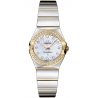 Omega Constellation 09 Womens 2 Tone Watch 123.25.24.60.55.008