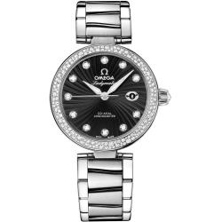 Omega De Ville Ladymatic Womens Diamond Watch 425.35.34.20.51.001