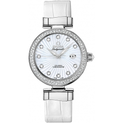 Omega De Ville Ladymatic Womens Diamond Watch 425.38.34.20.55.001