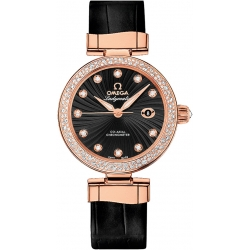 Omega De Ville Ladymatic Womens Diamond Watch 425.68.34.20.51.001