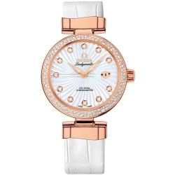 Omega De Ville Ladymatic 18K Rose Gold Watch 425.68.34.20.55.001