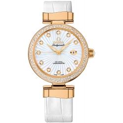 Omega De Ville Ladymatic Womens Diamond Watch 425.68.34.20.55.002