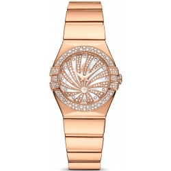 Omega Luxury Edition Diamond Womens Watch 123.55.24.60.55.013