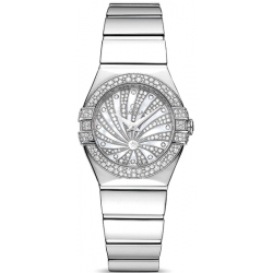 Omega Luxury Edition Diamond Womens Watch 123.55.24.60.55.014