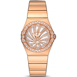 Omega Luxury Edition Rose Gold Bracelet Watch 123.55.27.60.55.013