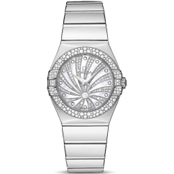 Omega Luxury Edition Diamond White Gold Watch 123.55.27.60.55.014