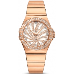 Omega Luxury Edition Womens Rose Gold Watch 123.55.31.20.55.010