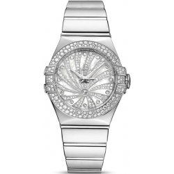 Omega Luxury Edition Womens White Gold Watch 123.55.31.20.55.011