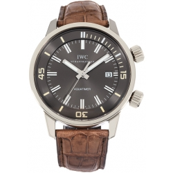 IWC Vintage Aquatimer Automatic Mens White Gold Watch IW3231-04