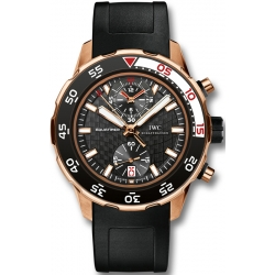 IWC Aquatimer Chronograph Mens Rose Gold Watch IW376905