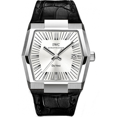IWC Da Vinci Vintage Automatic Mens Platinum Watch IW546105