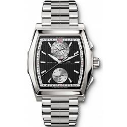 IWC Da Vinci Chronograph Mens Steel Bracelet Watch IW376414