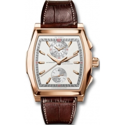 IWC Da Vinci Chronograph Mens Rose Gold Watch IW376420