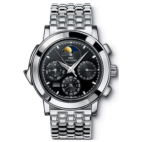 IWC Grande Complication Mens Titanium Bracelet Watch IW927020