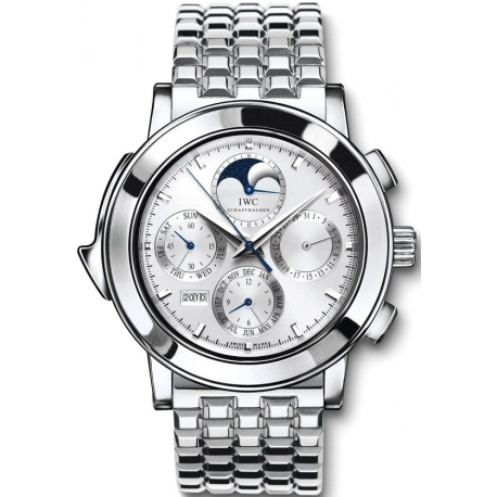 IWC Grande Complication Mens Platinum Bracelet Watch IW927016
