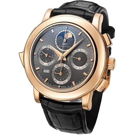 IWC Grande Complication Mens 18K Rose Gold Watch IW377025