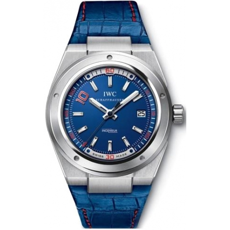 IWC Ingenieur Zinedine Zidane Edition Mens Steel Watch IW323403