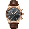IWC Pilots Chronograph Automatic Mens Rose Gold Watch IW371713