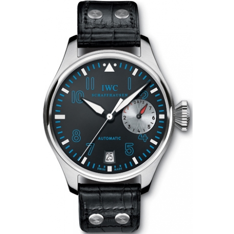IWC Big Pilots Limited Edition Alexei Nemov Mens Steel Watch